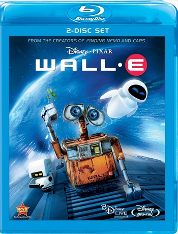 WALL-E 2008 Dual Audio Hindi 480p BluRay 300mb