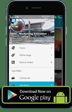 Aplikasi Android Dealer Toyota Nasmoco Klaten