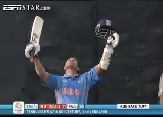 Sachin Tendulkar 120 vs England | 47th ODI Hundred Highlights