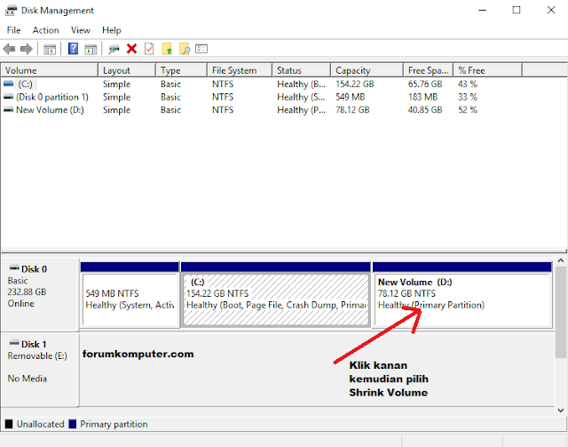 Partisi Hardisk Di Windows 10