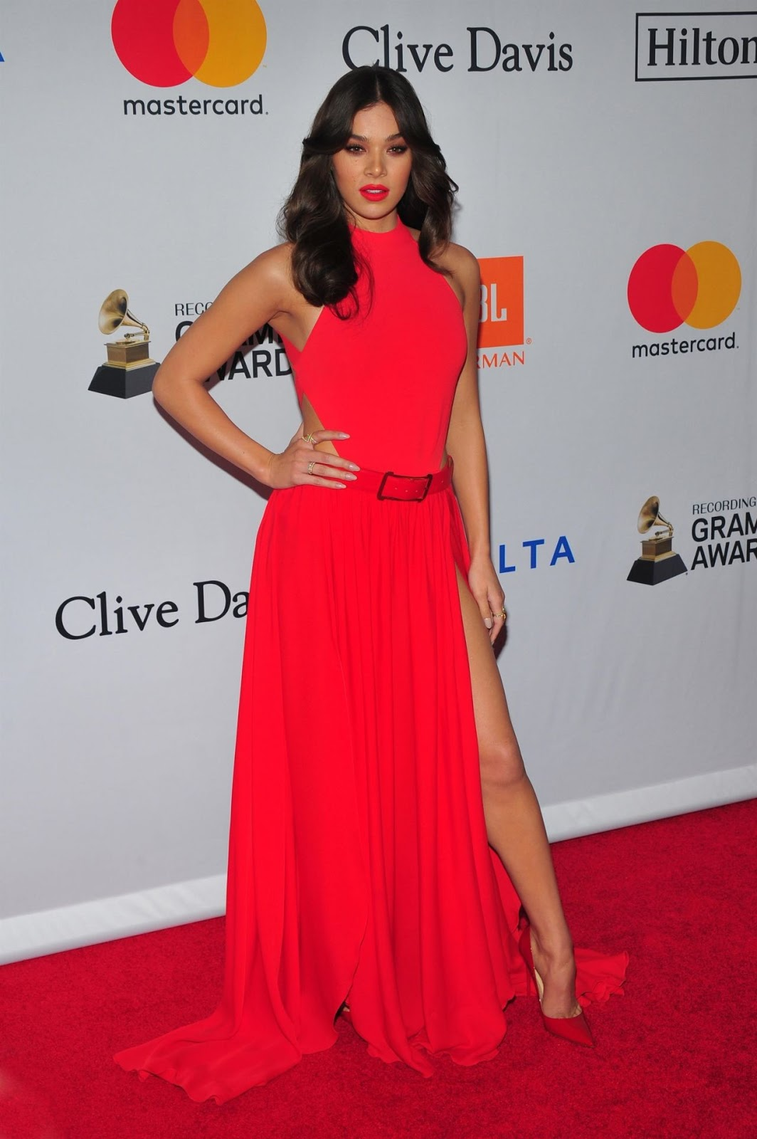 Hailee Steinfeld – Clive Davis and Recording Academy Pre-Grammy Gala in NYC