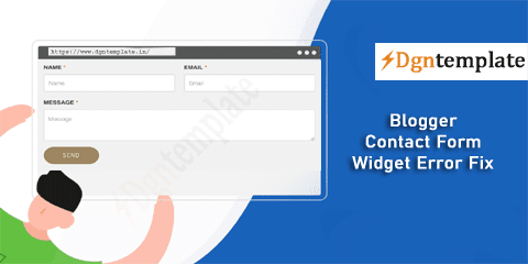 Fix Error in Blogger Contact Form Widget/Page