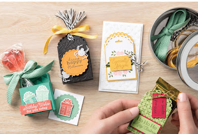 Stampin' Up! Little Treats Projects ~ Aug-Dec 2020 Mini Catalog