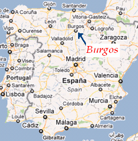 mapa espanha burgos Retratos de Família (recordações impagáveis).: Fevereiro 2013 mapa espanha burgos