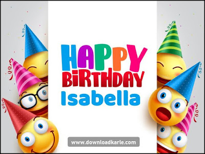 happy birthday isabella images