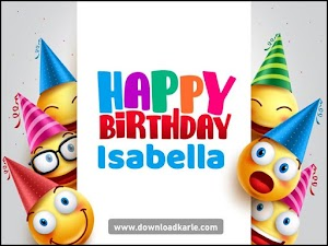 Happy Birthday Isabella Images With Cake