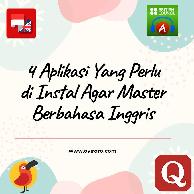 4 Rekomendasi Aplikasi Agar Master Berbahasa Inggris