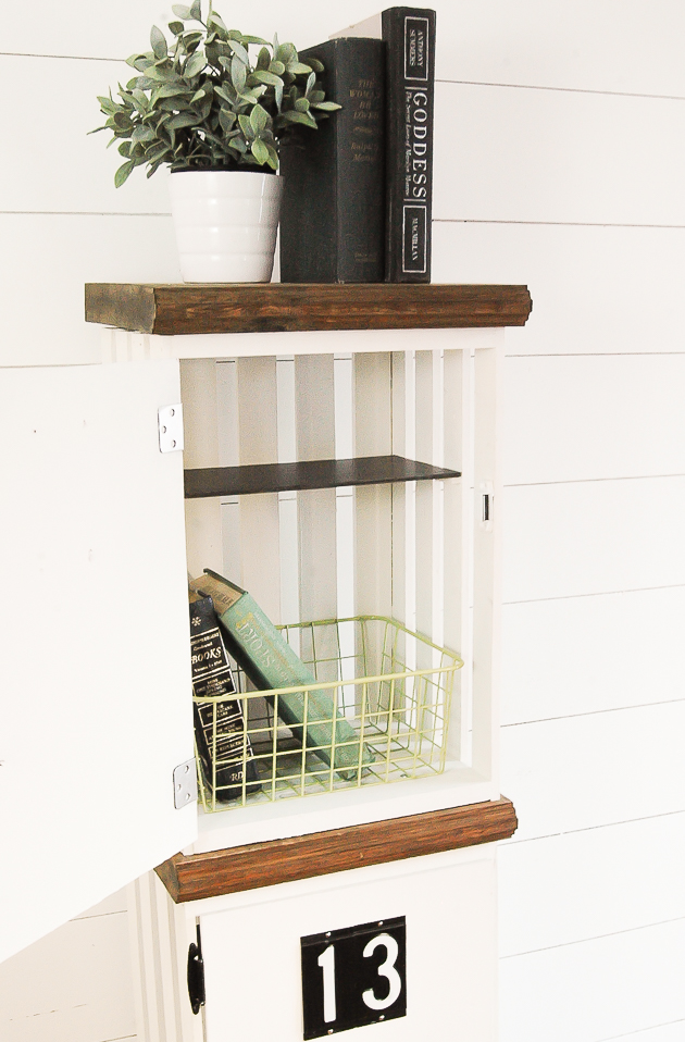 DIY crate lockers