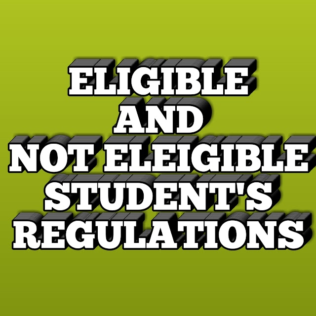 ELIGBLE AND NOT ELIGBLE STUDENTs, READY TO NACTE