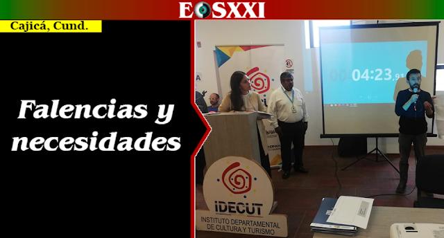 Facatativeña escuchó necesidades departamentales de cultura y turismo, a nombre del gobernador García