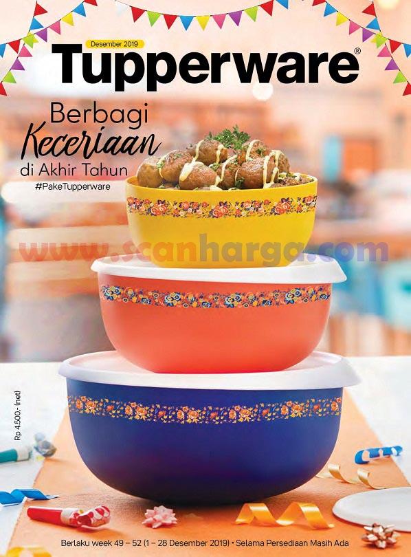 Katalog Brosur Tupperware Desember 2019 Tahun Baru