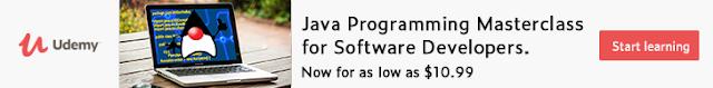 Oferta Masterclass en Java Udemy Junio 2021