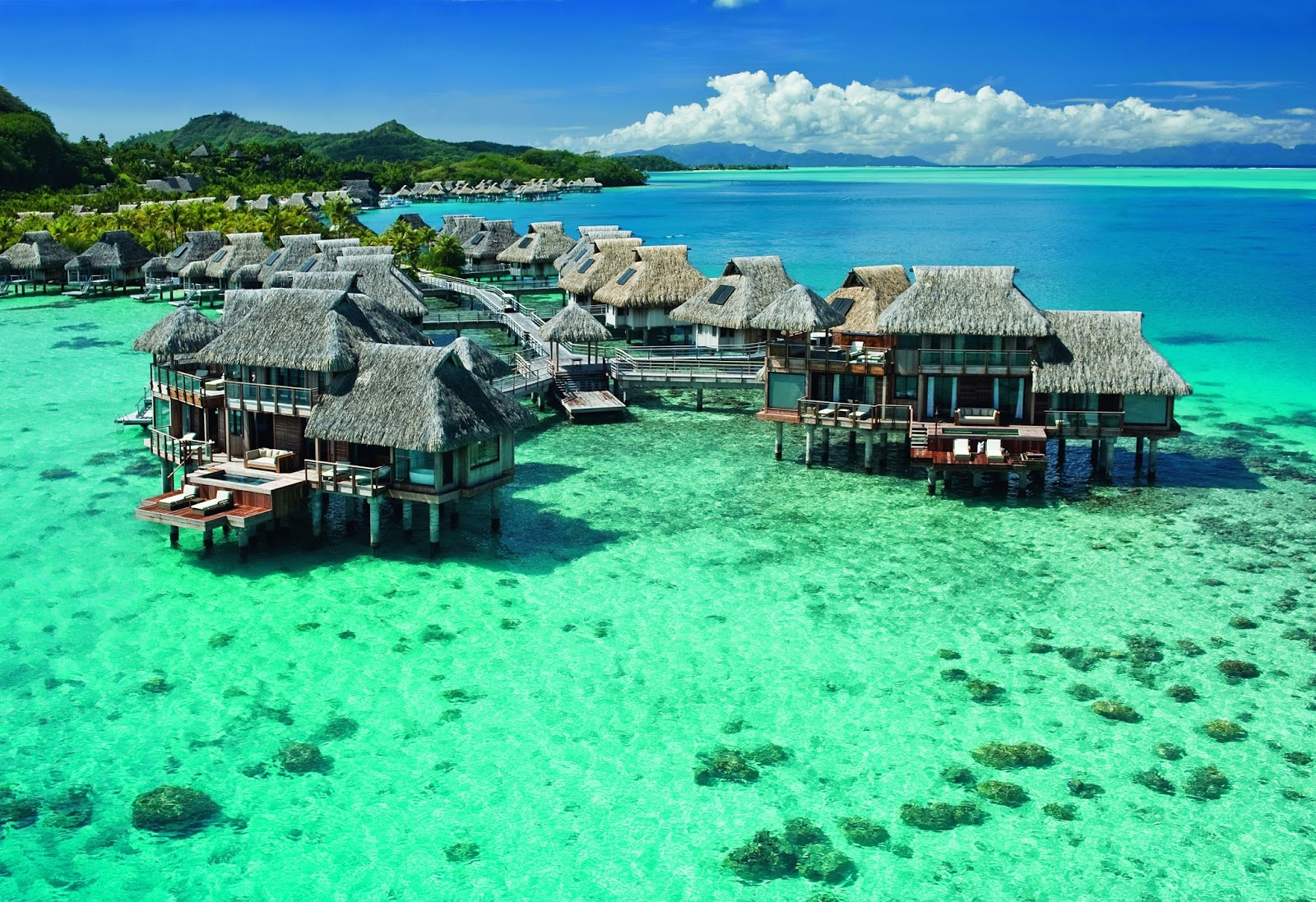 Most Of The Tourist Destinations Are Aqua Centric However It Is Possible To Visit Attractions On Land Such As Wwii Cannons Air Tahiti Has Five Or Six