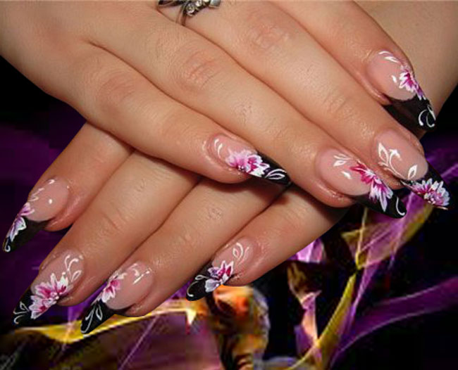 Fake Nails Designs - fashion world