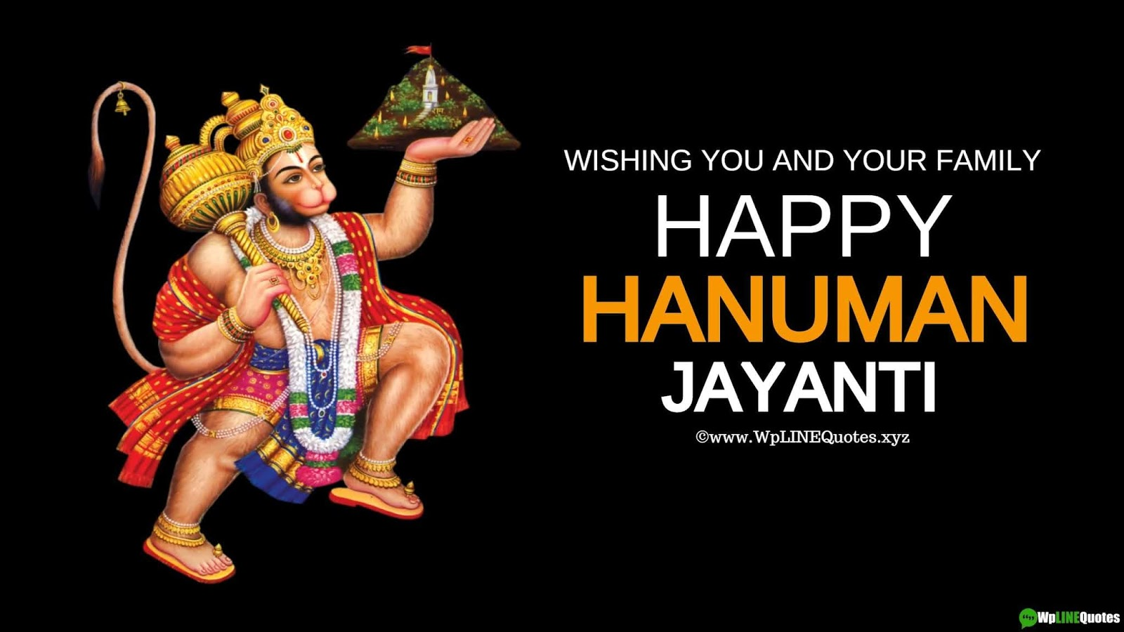 Hanuman Jayant Wishes, Quotes, Messages, SMS, Greetings, History, Images, Poster, Wallpaper For Whatsapp Status & Facebook