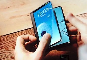 Wow! Samsung siap rilis smartphone layar lipat?