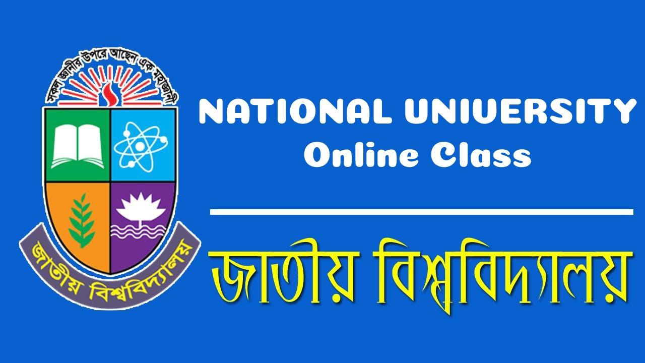 National University Online Class