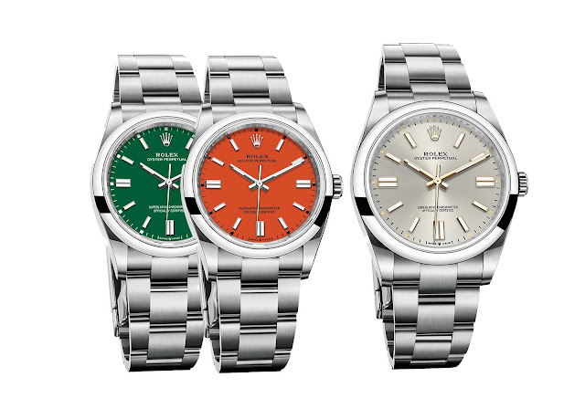 Rolex Oyster Perpetual 41 mm and 36 mm, the new 2020 models