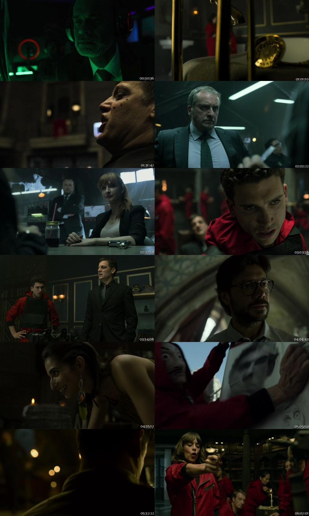 Money Heist 2017 (Season 4) All Episodes HDRip 720p