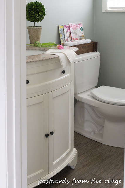 Our Half Bathroom Renovation Details | Postcards from the ...
