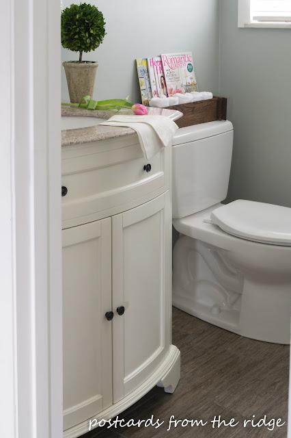 Our Half Bathroom Renovation Details