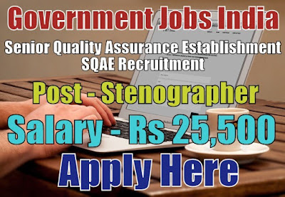 Senior Quality Assurance Establishment SQAE Recruitment 2017