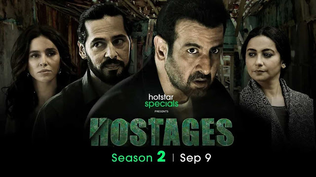 Hostages web series