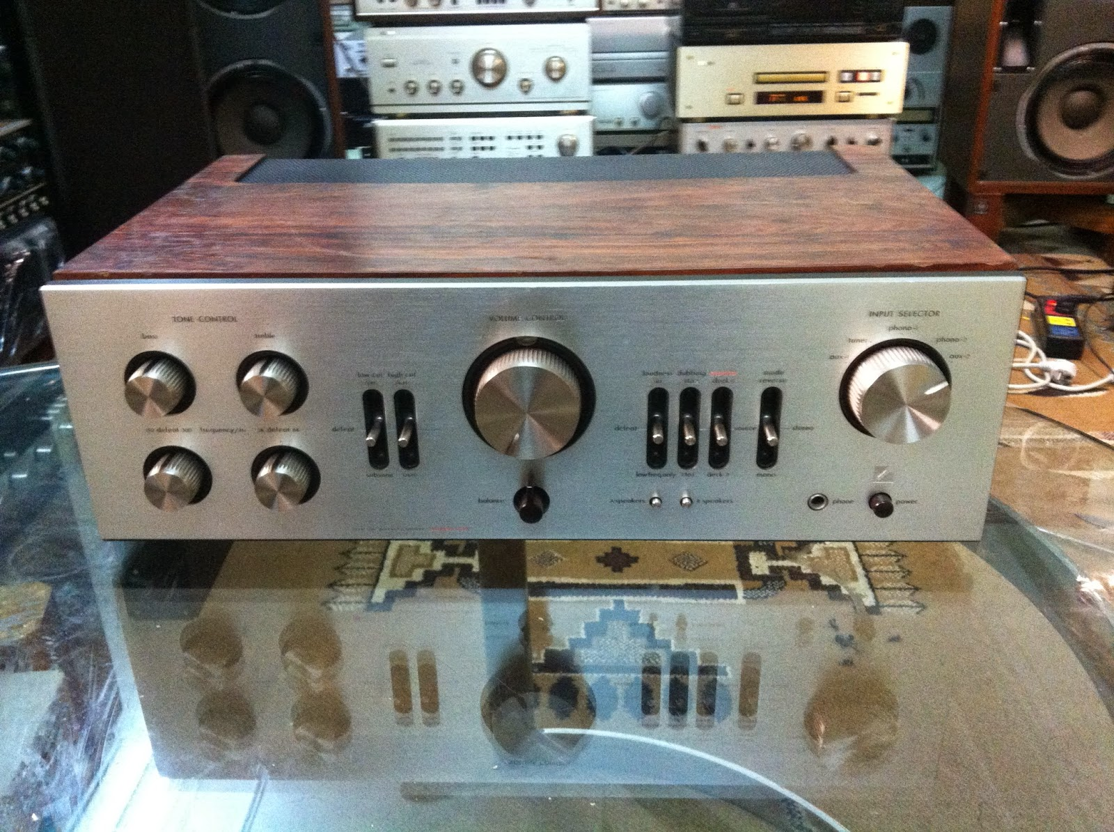Amply Luxman L-80V - Made in Japan