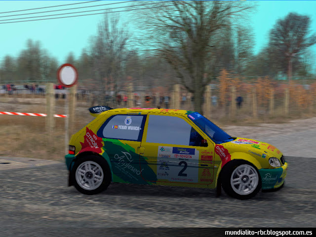 Saxo Kit Car Rallye Santa Brigida 2004