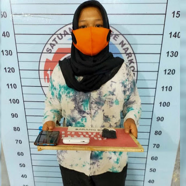 Miliki 24 Paket Sabu, Janda di Panton Labu ditangkap