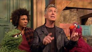 Johnny Gotcha, Tom Bergeron, Telly, Mando, Oscar the Grouch, Sesame Street Episode 4412 Gotcha season 44