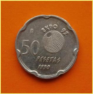 50 ptas - 1990 - Expo'92