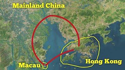 Hong Kong to Macau