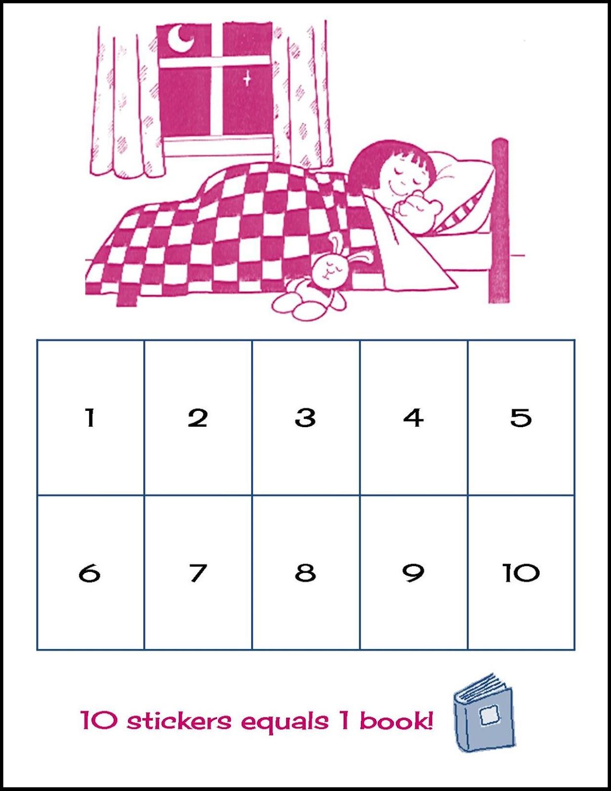 Life In Random Bits Sleep Chart Free Printable