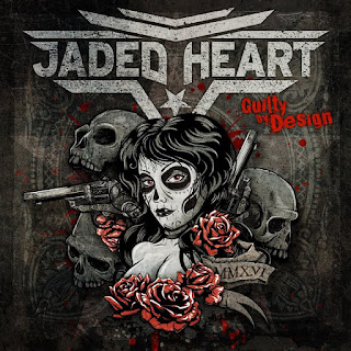 "Το lyric video του τραγουδιού ""Godforsaken"" από το album των Jaded Heart ""Guilty By Design"""