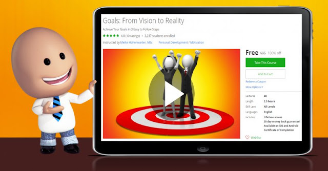 [100% Off] Goals: From Vision to Reality| Worth 95$