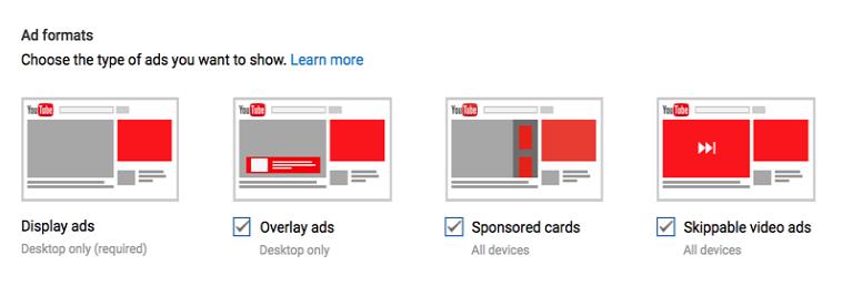 Video Advertising Formats
