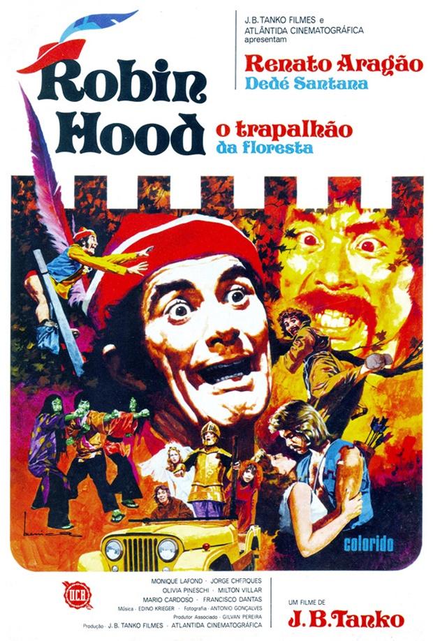 Os trapalhões, Ilustrações de Benício para o cinema, José Luiz Benício, Ilustrações de Benício