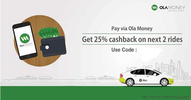 Ola Cab Offers,Ola Cab Ride