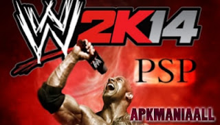 WWE Smackdown vs Raw 2K14 psp apkman android