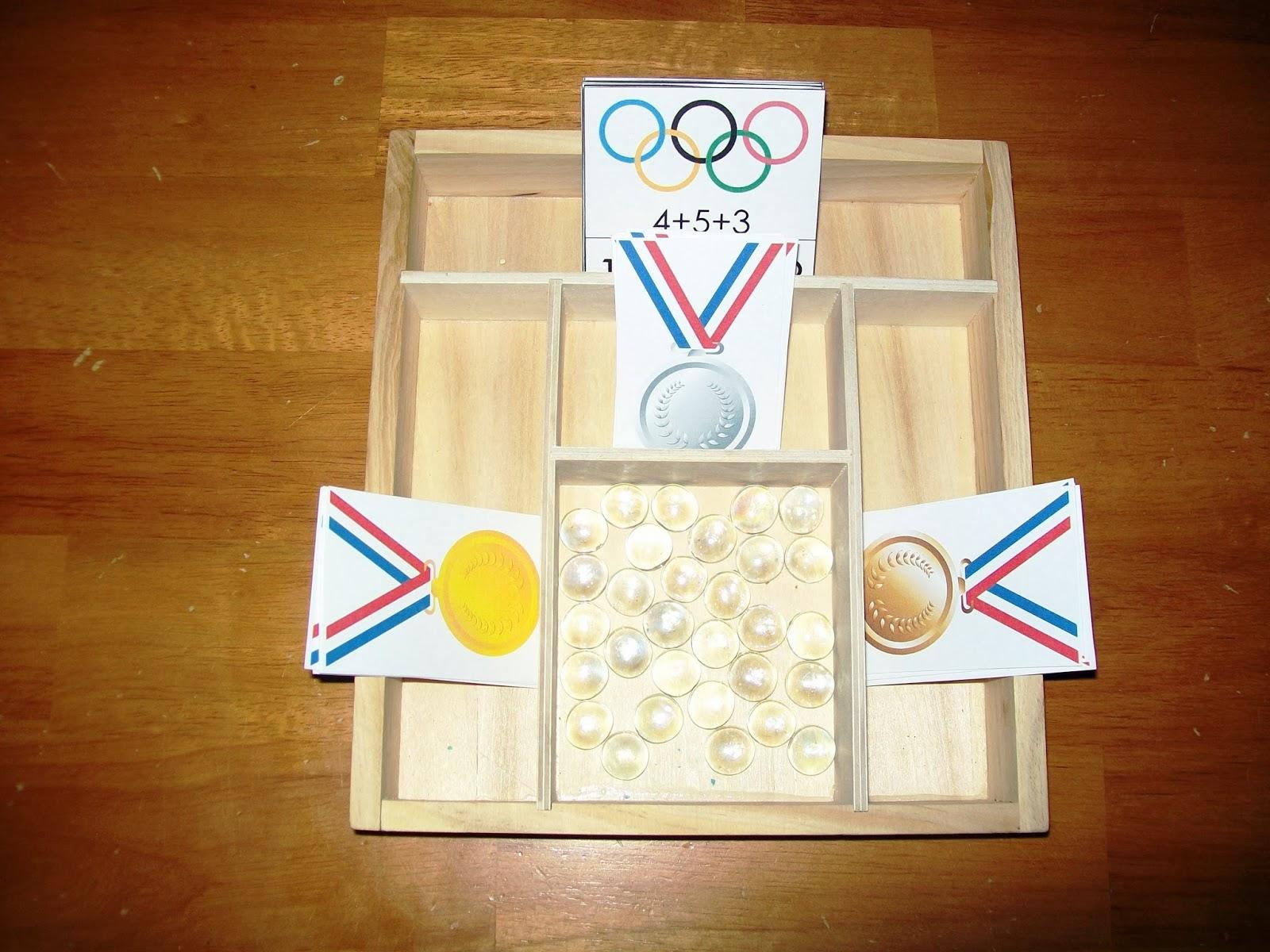 Montessori Inspired Winter Olympics Unit