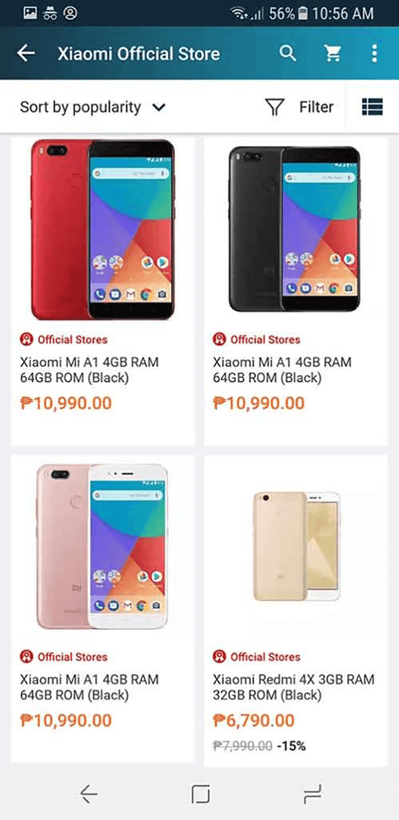 Here are the posted Mi devices at the moment