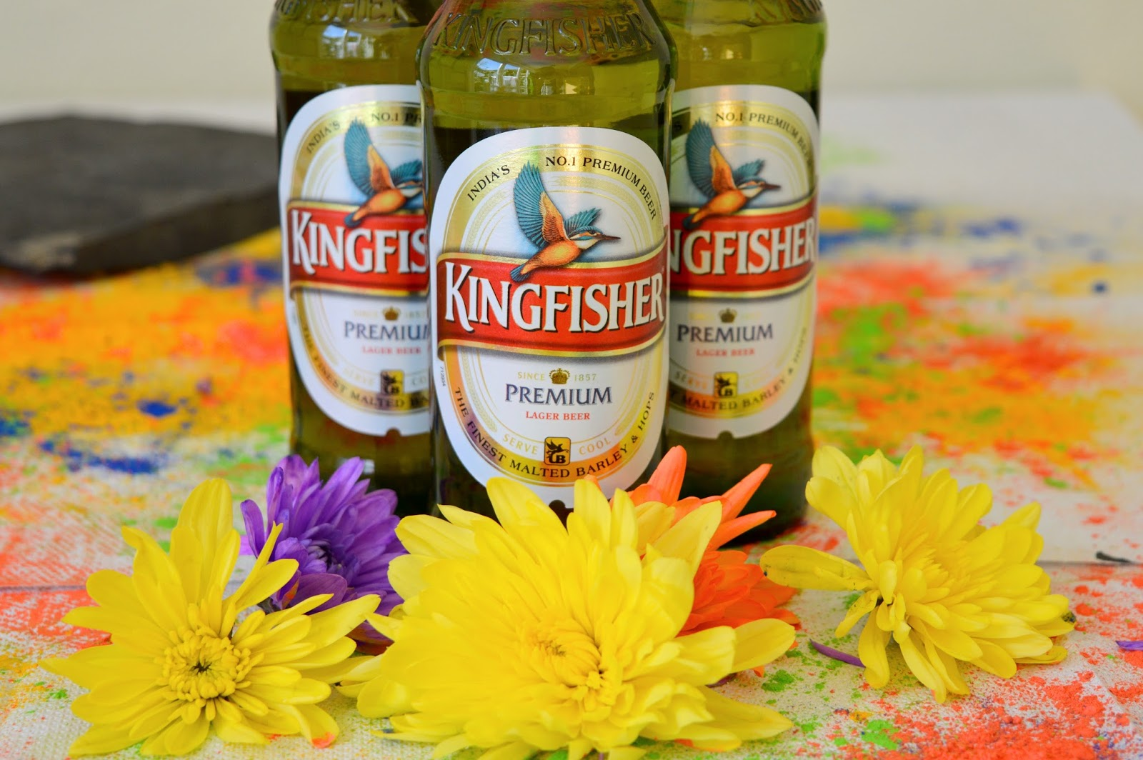Kingfisher beer, Holi festival recipes, food bloggers, food blog