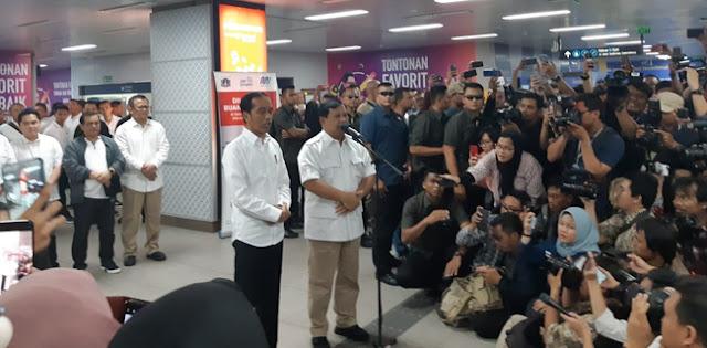 Gerindra: Pertemuan Prabowo-Jokowi Bukan Politik Dagang Sapi