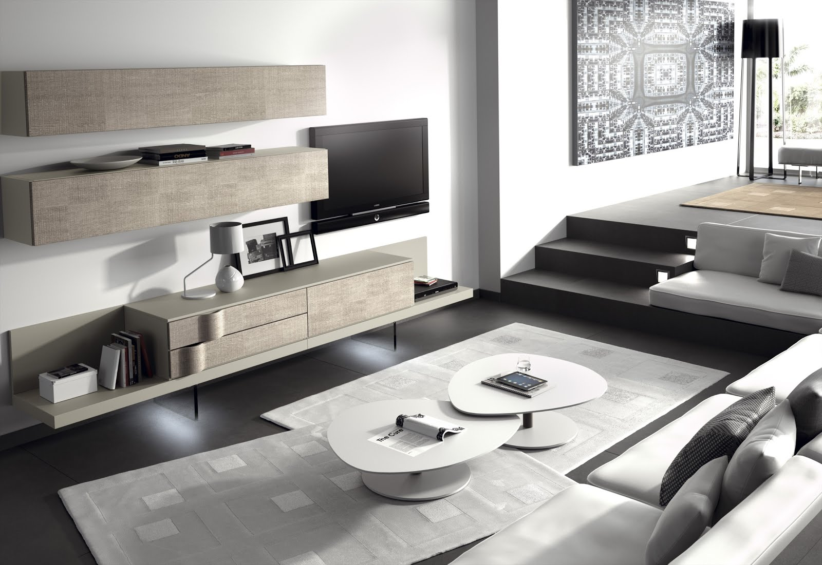 Dise os de salones modernos for Decorar mueble salon moderno