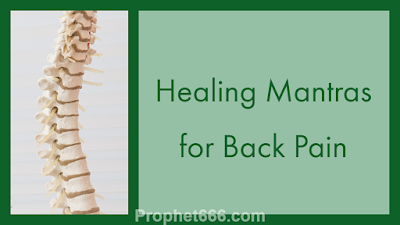 Healing Occult Spells for Back Pain Relief