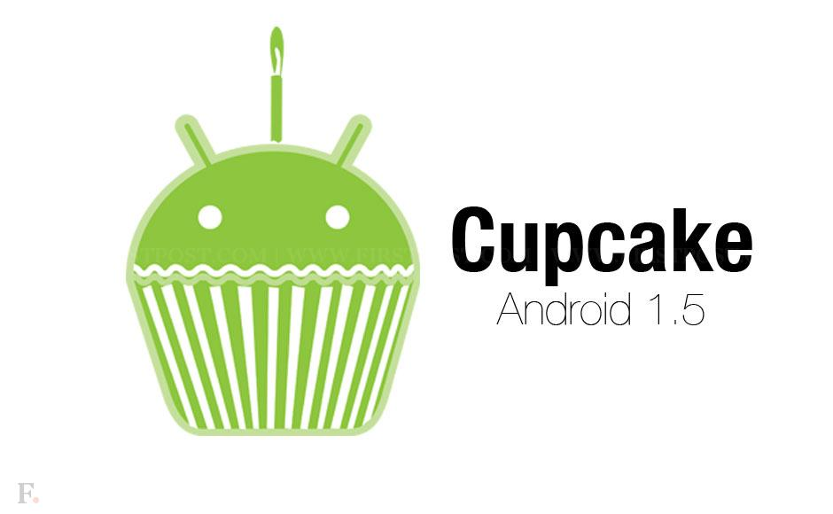 Resultado de imagem para android cupcake