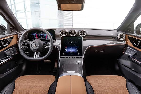 Mercedes Classe C 2022 chega apenas com motores 4 cilindros