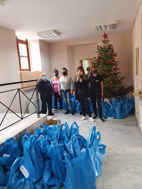 «Προσφορά Αγάπης» - Διανομή τροφίμων από το Δήμο Στυλίδας