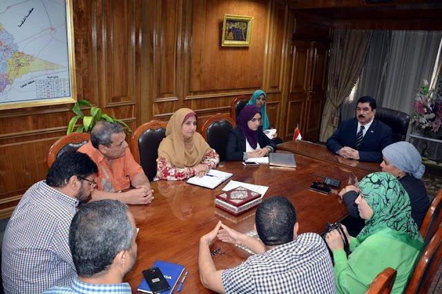 مرزوق يوجه بالتعاون مع كلية الهندسة للمساهمة في وضع المخطط التفصيلي لمدينة القناطر الخيرية